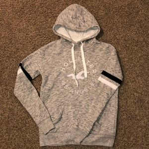 Grey Hollister Logo sweatshirt
